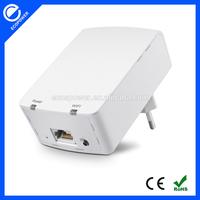 500M HomePlug AV Wallmount 300M 802.11N Wireless Ethernet Powerline Adapter