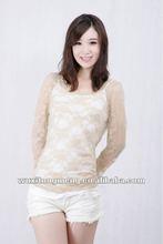 2012 OEM fashion design women clothes,sexy women blouses&tops