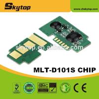 reset cartridge chip for samsung d101s, for samsung ml 2160, for samsung 101 toner chip