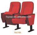 Diseño moderno de metal plegable de madera baratas sillas de teatro ya-11b