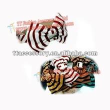 2013 latest fashion designer tropical bow headbands wholesale