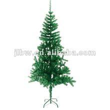PVC Fiber Christmas Tree With Plastic Stand/Christmas Decoration/Very Popular Cheap Custom X'Mas Tree Pvc Christmas Tree