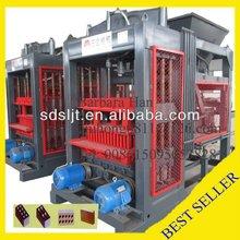 BEST SALES high yielding using construction waste QT8-15 brick making machine,block making machine, pavering machine
