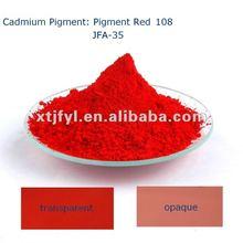 CI Pigmento vermelho 108 resina e ao ar livre coloração pigmento cádmio vermelho