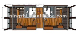 prefabricated container hotel