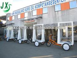 three wheeler advertising display tricycle LED