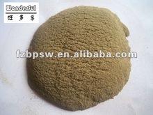 Natural fish/animal feed binder powder extracted from seaweed, sodium alginate