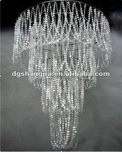 Acrylic Chandelier White
