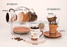 ceramic coffee set fashionable gifts
