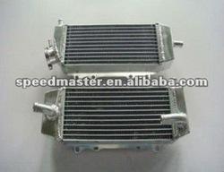 ALUMINUM MOTORCYCLE RADIATOR FOR SUZUKI RMZ250 RMZ 250 2004 - 2006 2005 & KAWASAKI KX250F KXF250 250KXF 2004-2005