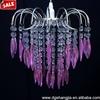Fountain Acrylic Crystal Chandelier,Crystal Bead Chandelier for Wedding Decoration
