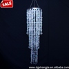 Acrylic Crystal Chandelier for Wedding,Iridescent Bead Garland Chandelier