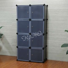 8 Cubes Storage Organiser with Plastic Material (FH-AL0030-8)