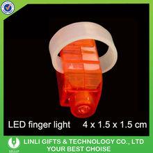 Fashionable Plastic Red LED Light Finger