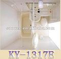 Inodoro de plástico portátil, modular de unidades de baño, ducha aseo unidad