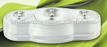 luxury food container with three bowls