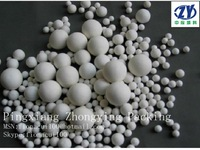 ceramic balls water filter small alunina ball as catalyst bed support/ covering
