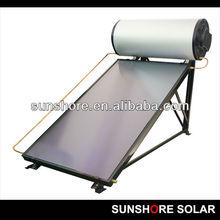 SUNSHORE flat plate pressurized solar water heater