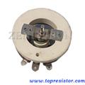 De alta potencia variable de la herida del alambre potenciómetro/reóstato ajustable