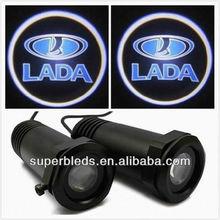 2012 hot sell 10-18V led car logo ghost shadow light for cars