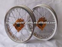 """silver color alloy 16"""" motorcycle rim"""