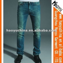 Wholesale denim mens jeans kosmo lupo jeans sandblast designs (HY1571)