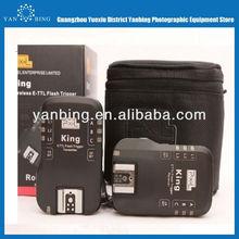 Pixel king TTL II wireless 2.4G Hz radio flash trigger for nikon SB910 SB900