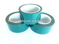 Green PET tape for masking