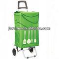 nuevo diseño plegable carritos de la compra con la bolsa de paraguas