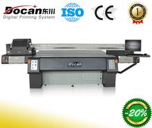 digital inkjet glass printer/uv printer/uv flatbed printing machine