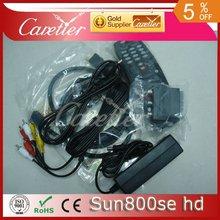 2012 free shipping lastest Rev D6 OEM sunray 800 SE receiver 800 hd SE 800se satellite receiver 800 hd SE Extra USB