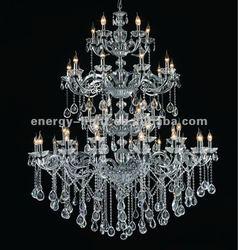 2014 Iuxury modern big crystal silver chandelier lighting