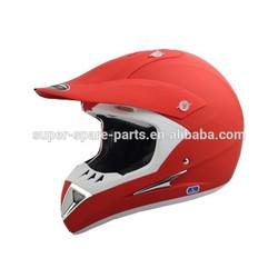 China hot-selling red dirt bike racing helmet