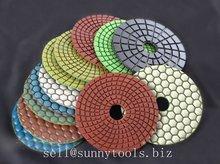 Round Shape Granite Diamond Polishing Pad