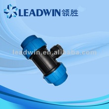 popular plastic pipe fittings male tee for water supply