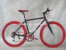Aluminium Alloy EF51 7 Seed Road Bike / Racing Bike