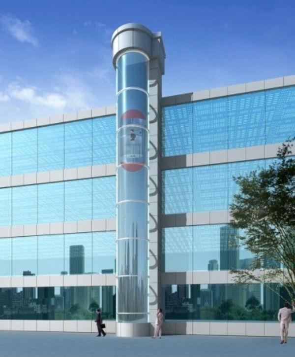 Chine fabricant d 39 ascenseurs capsule tourisme transparent ext rieur ascen - Prix ascenseur exterieur ...
