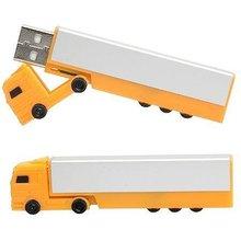 Truck shaped pen drive