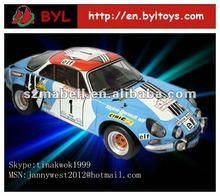 1:43 Cusmotized race car model toys car,house model toys