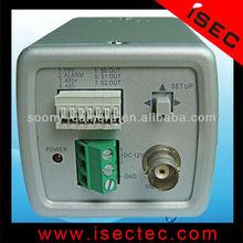 "1/3"" Sony Effio-E CCD 700TV Lines Box Camera With OSD Button"