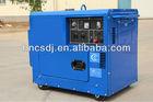 Portable silent 5kw diesel generator for sale CD6500SEL