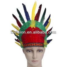 Fashion Indian Feather Carnival Headdress