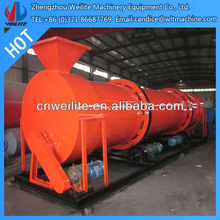 Rotary Wood Chip Dryer / Mineral and wood chip dryer / wood chip dryer