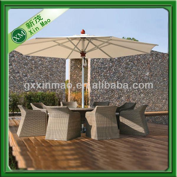 mesa jardim guarda sol:mesa de jantar elegante projetos com guarda-sol-Conjuntos de Jardim