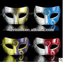 High Quality PVC Sexy Antique Masquerade Mask For Men