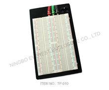 Electronic kits wholesale, Durable 1660PTS Testing Breadboard, 3 Binding Posts