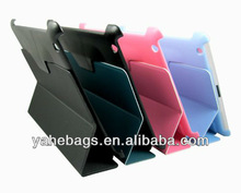 tablet case pu leather cover for apple iPad case