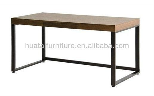 modern wood top executive office desk