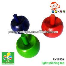 bamboo spin top -radish shape design