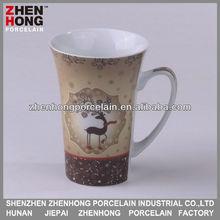16 oz ceramic mug with christmas with christmas design ZHA12_2004